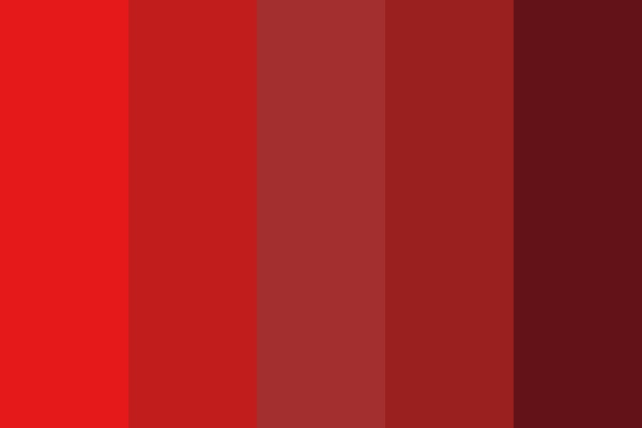 Red Lover Color Palette