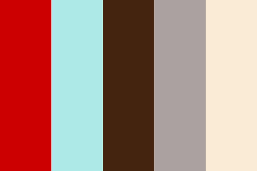 Red Luxury Color Palette