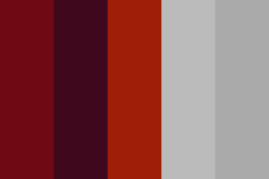 Red Purple Orange Color Palette