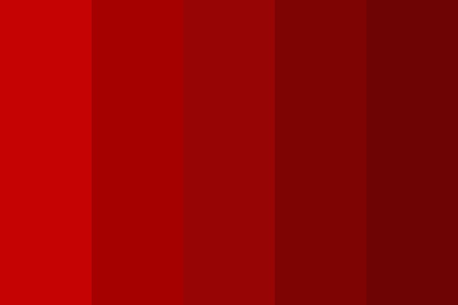 Red Red Red Color Palette