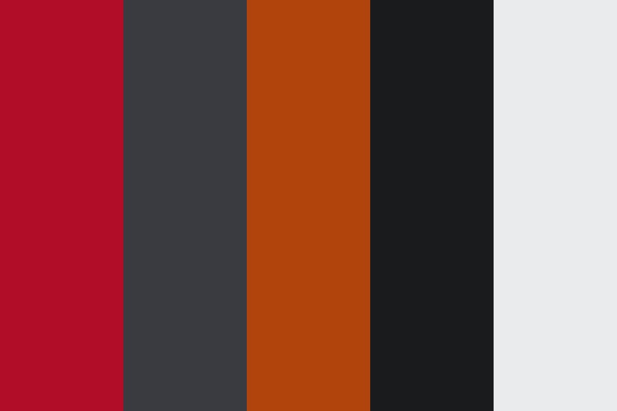 Red Slate Color Palette