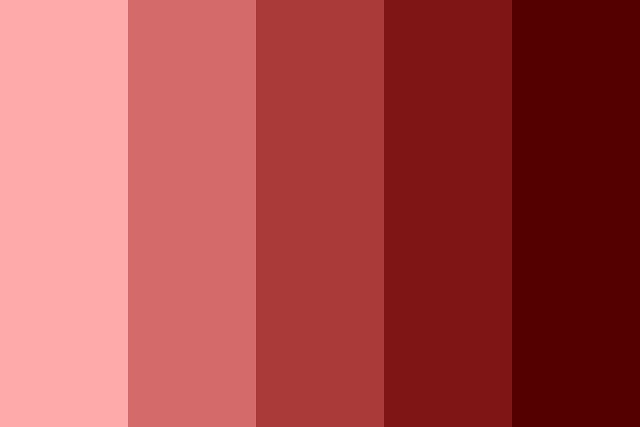 Red Stava Color Palette