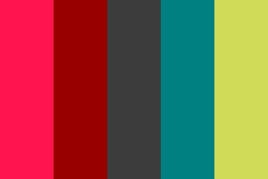 Red Stop Green Go Color Palette
