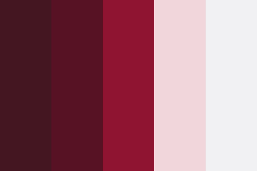 Red Sweaters Color Palette