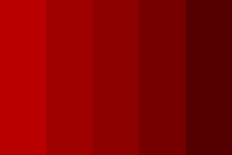 Red The Blood Of Angry Men Color Palette