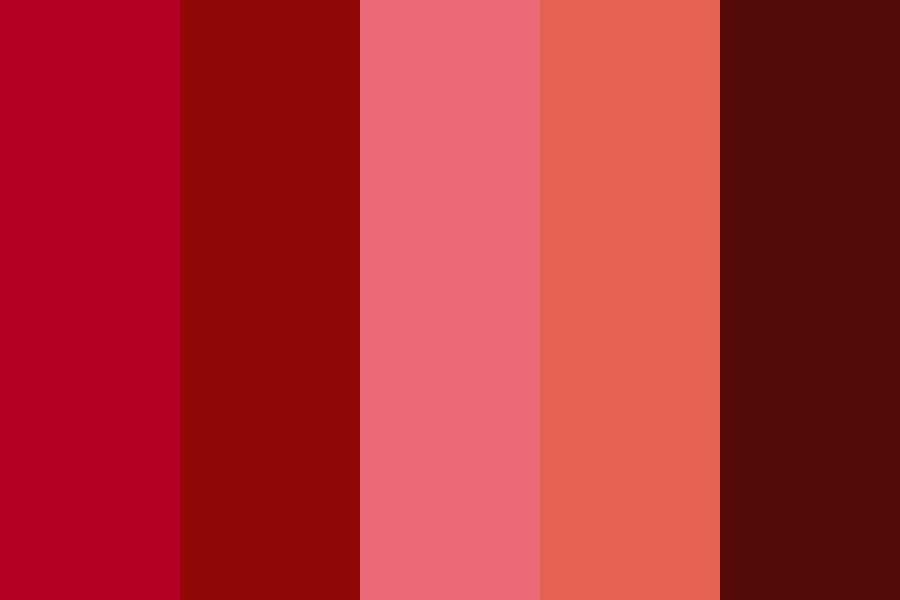 Red The Pinup Color Palette