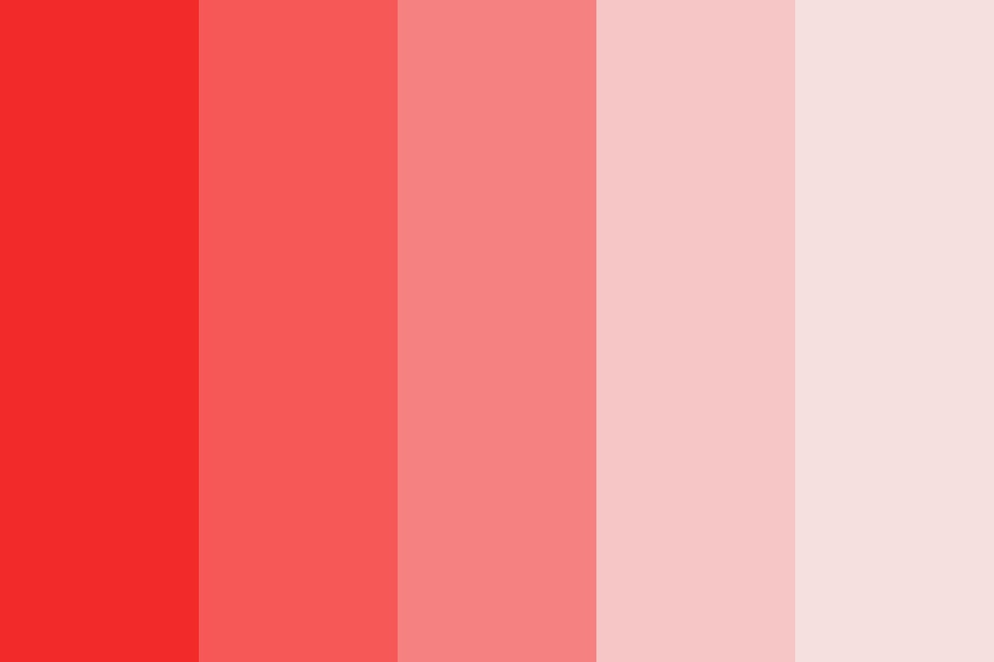 Red Tint Color Palette