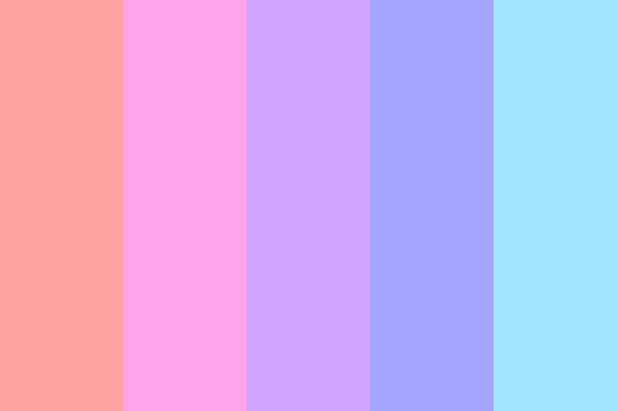Red To Blue Color Palette