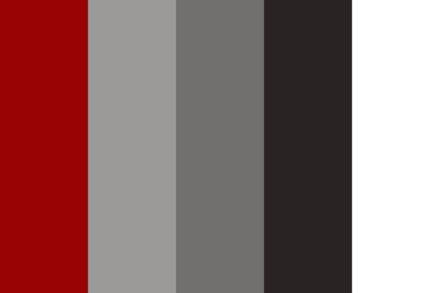 Red To Grey Color Palette