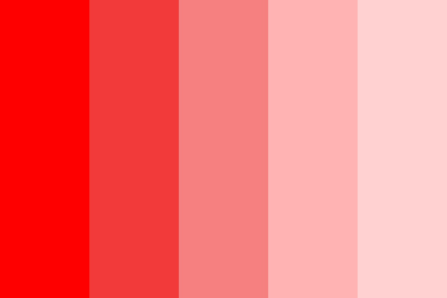 Red To White Col Color Palette