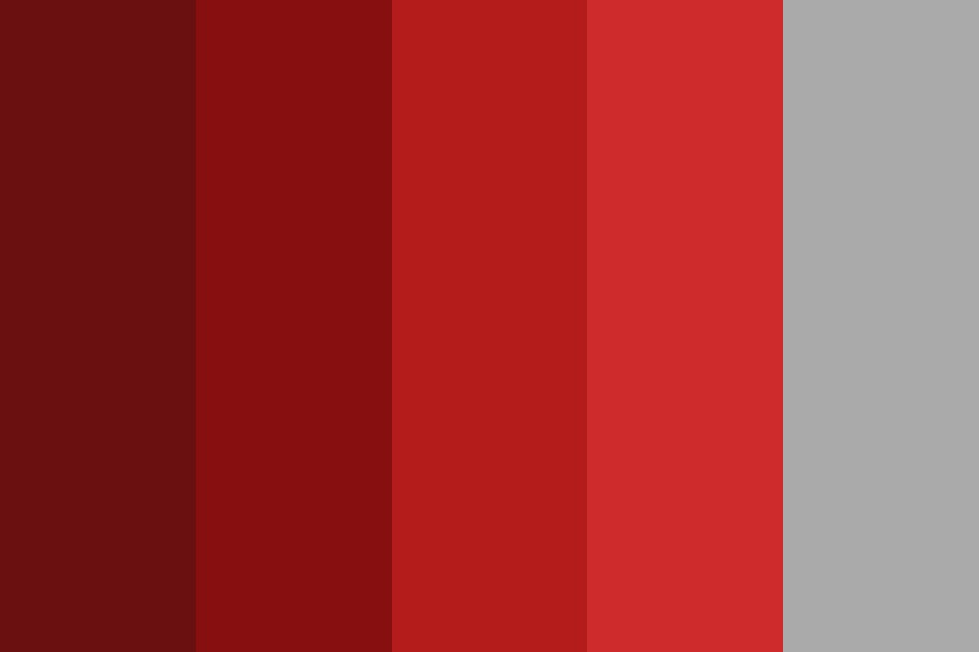 Red Wedding Color Palette
