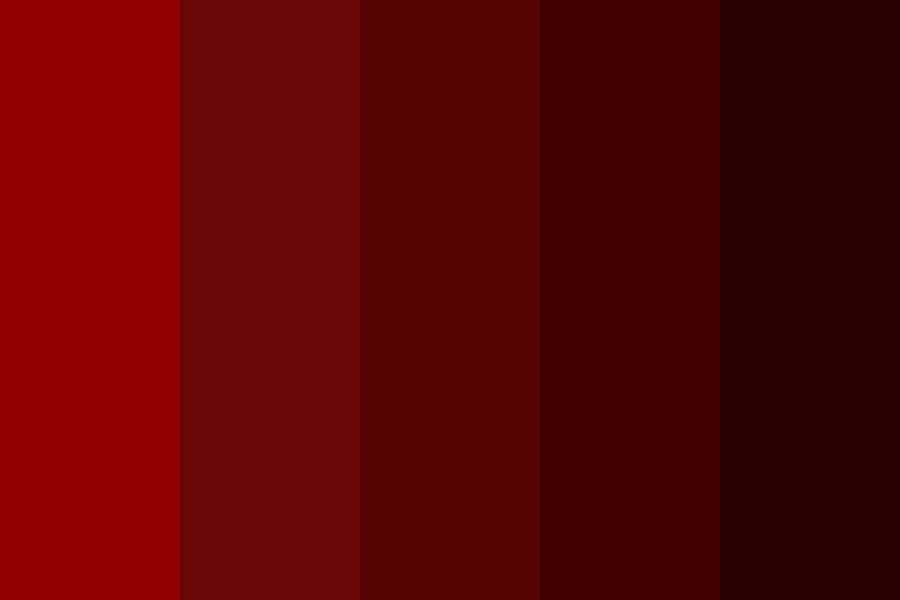 Red Wine Day Color Palette