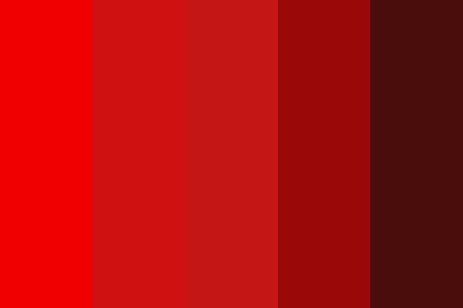 Red With Pastell In The Middle Color Palette