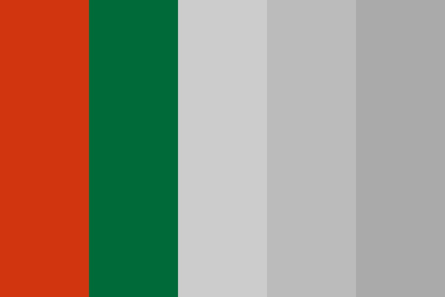 Red green Color Palette