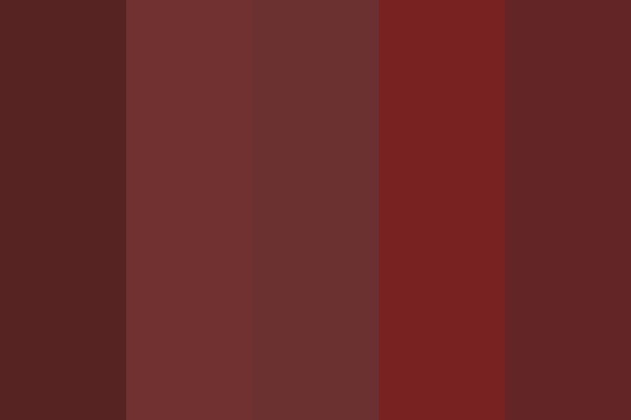Red ish Gothic Color Palette
