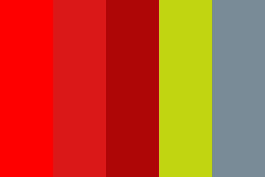 Reddrikan Color Palette