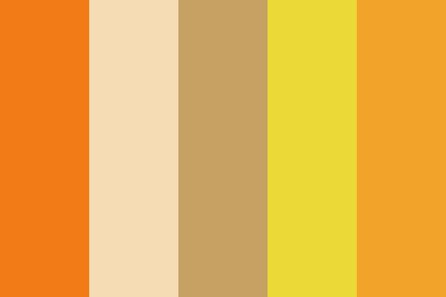 Redheaded Color Palette