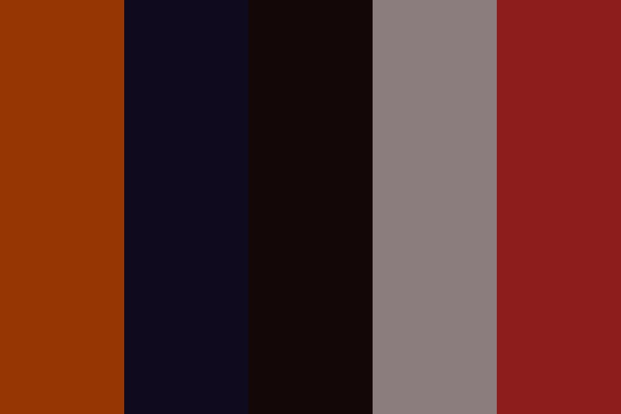 Redknight Color Palette