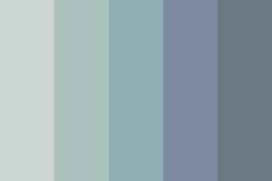 Redolent Waves Color Palette