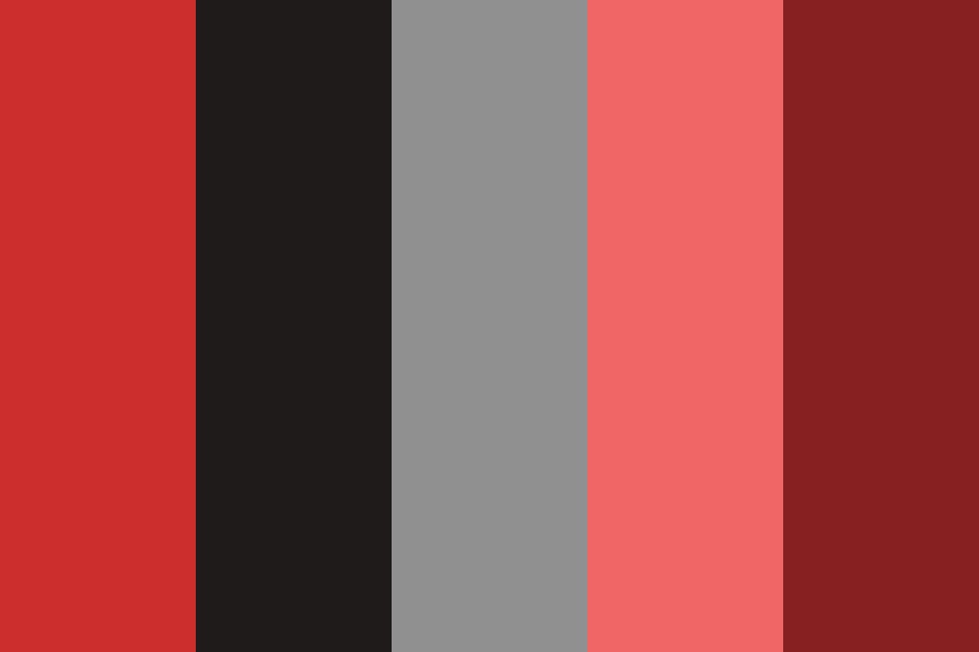 Reds And Blacks For Stuff Color Palette