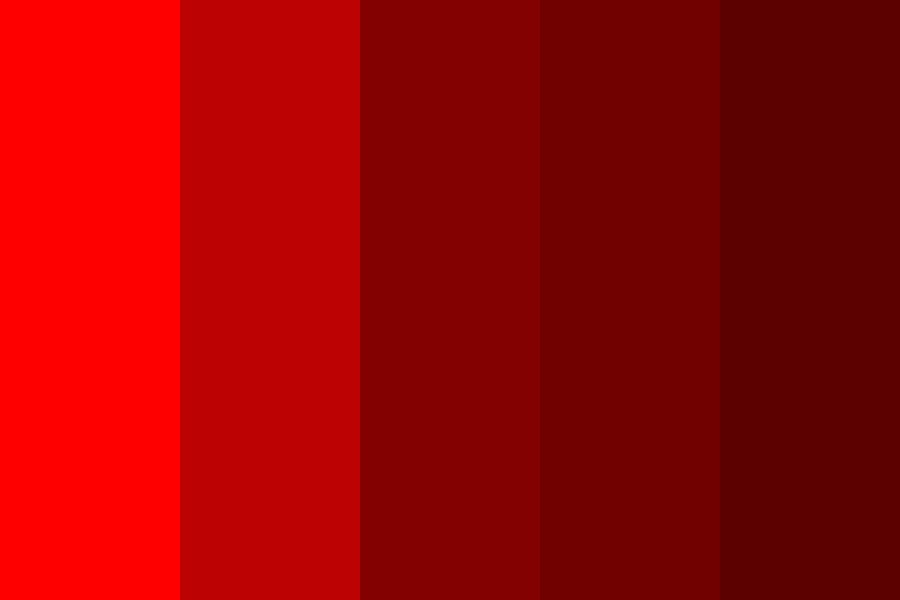 Reds Of Reds Of Reds Color Palette