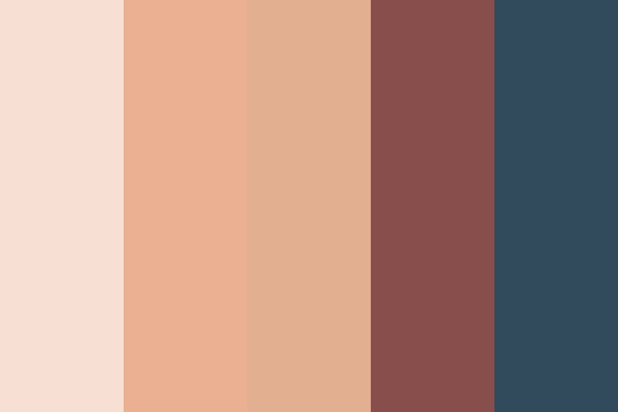 Ref   Warm Antique Color Palette