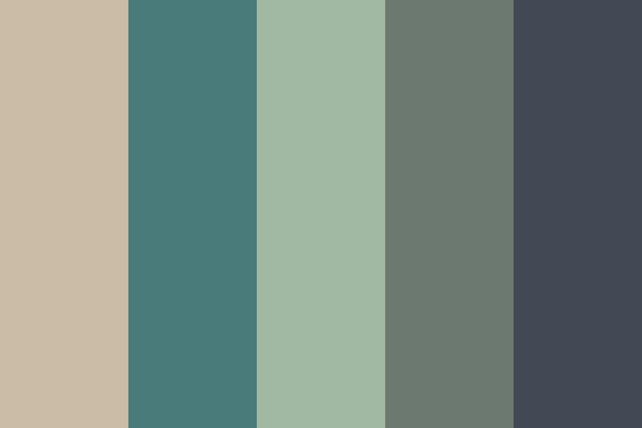 Remarkable Hair Muted Tones Color Palette