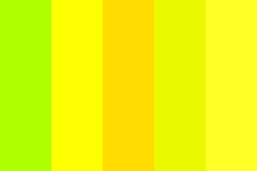 Restraining Order Yellow Color Palette
