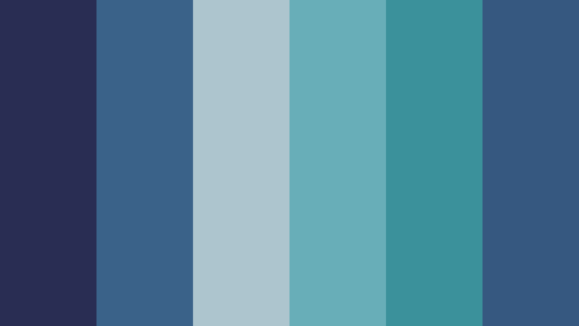 Retro Blues Color Palette