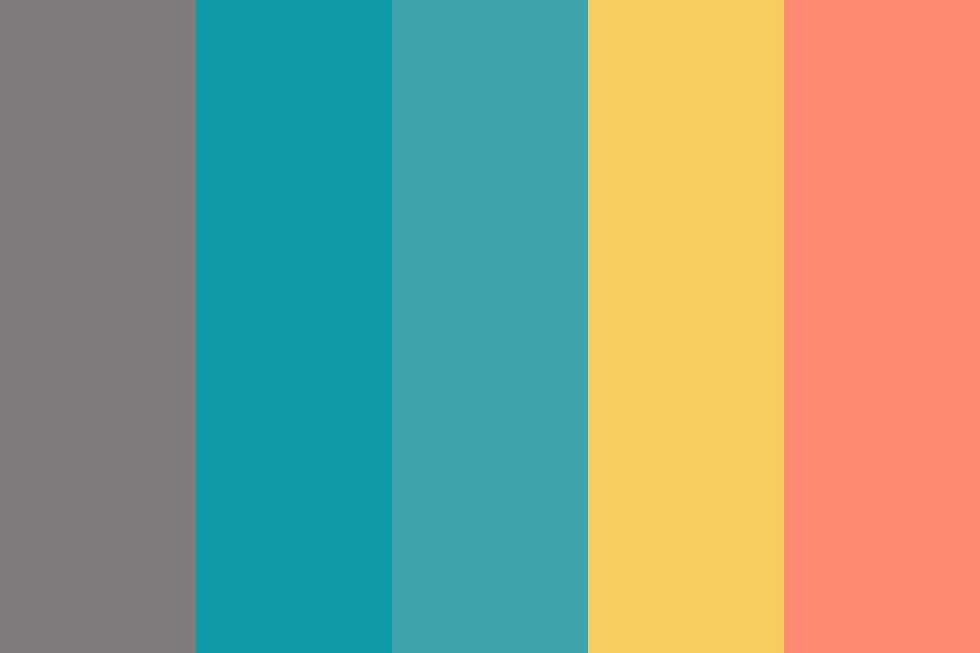 Retro Complimentary Color Palette