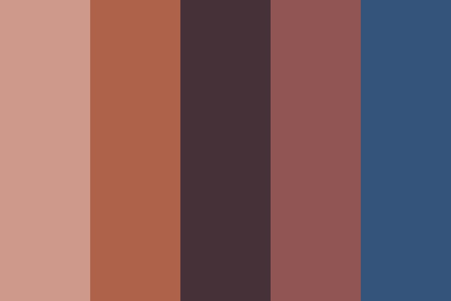 Retro Indoor Color Palette