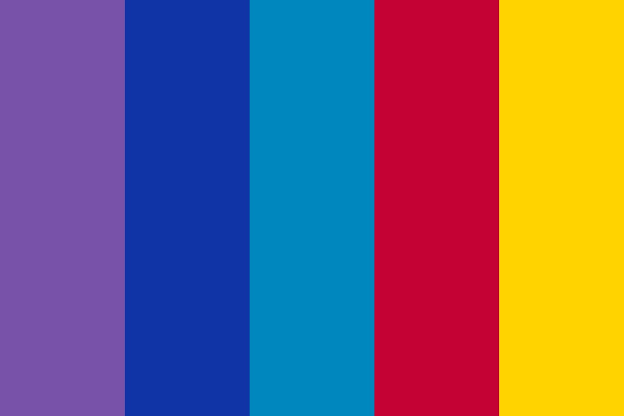 Retrofile Ep Color Palette