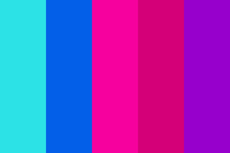 Retrowave Color Palette