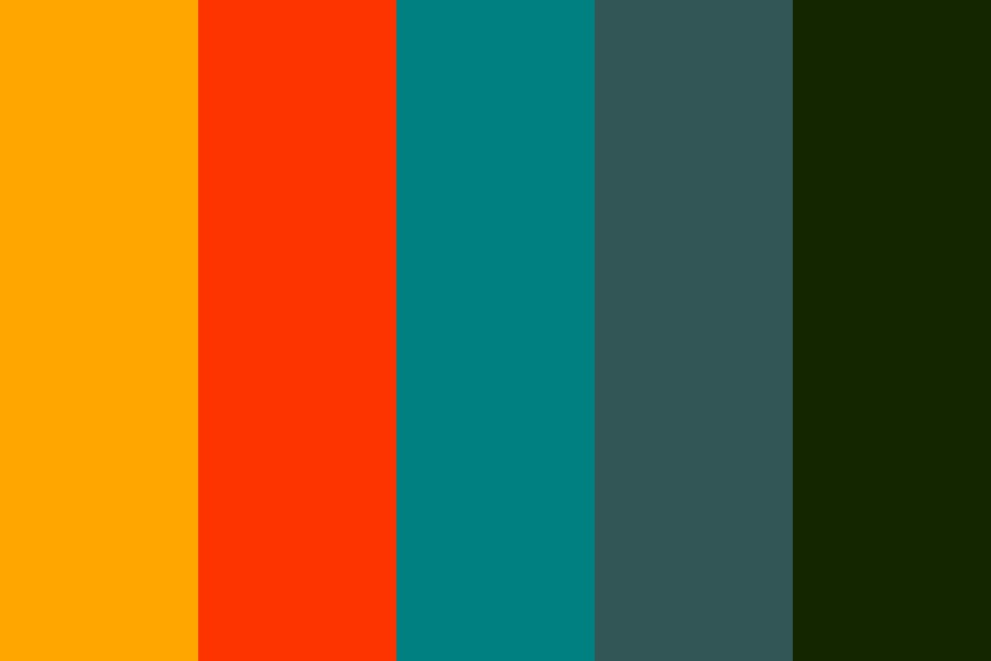 Rewired Projects Color Palette
