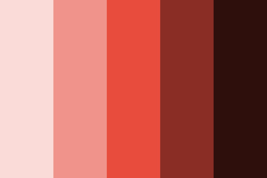 Rg red Color Palette