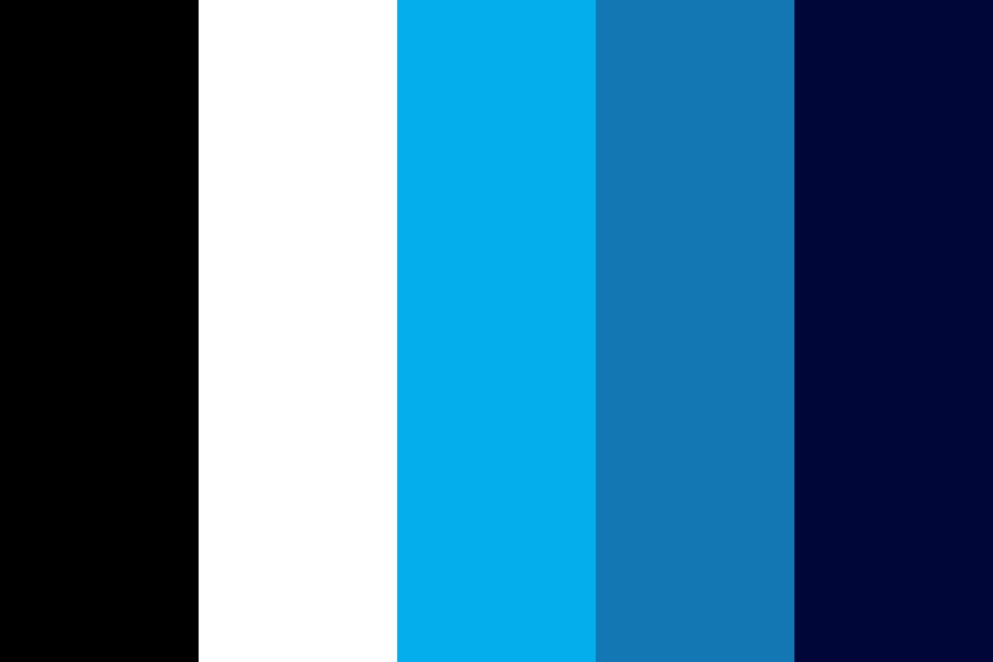Richard Petty Racing Blue Color Palette