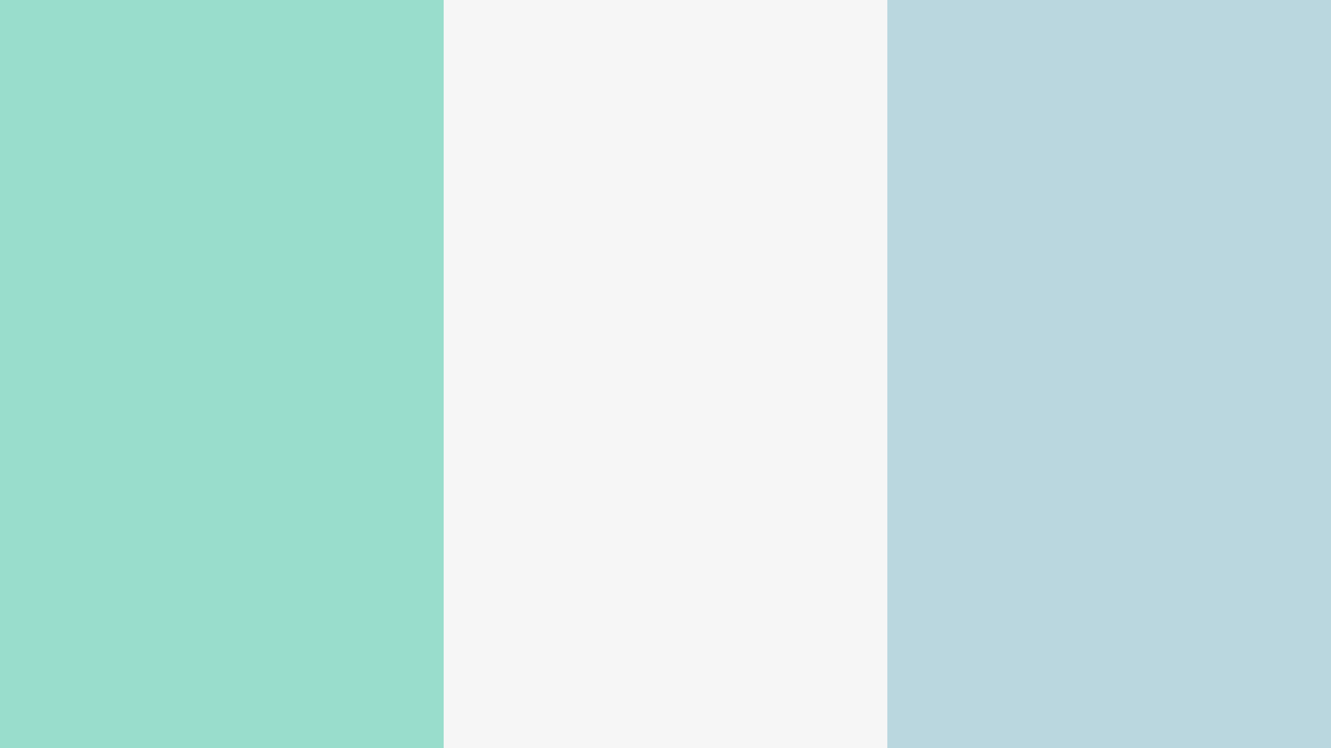 Right Blue With White Color Palette