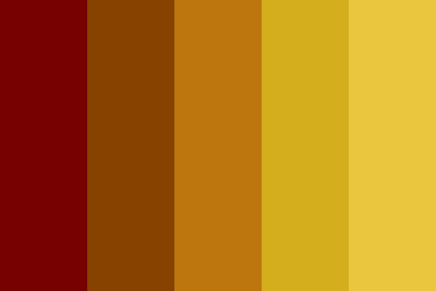 Rise From Fire Color Palette