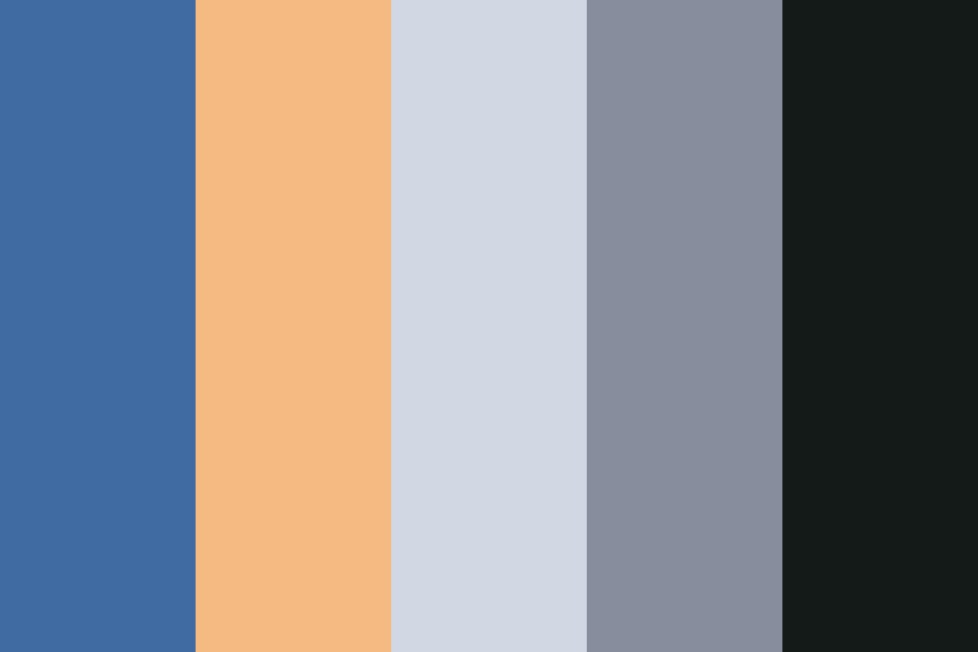 Road And Sky Color Palette