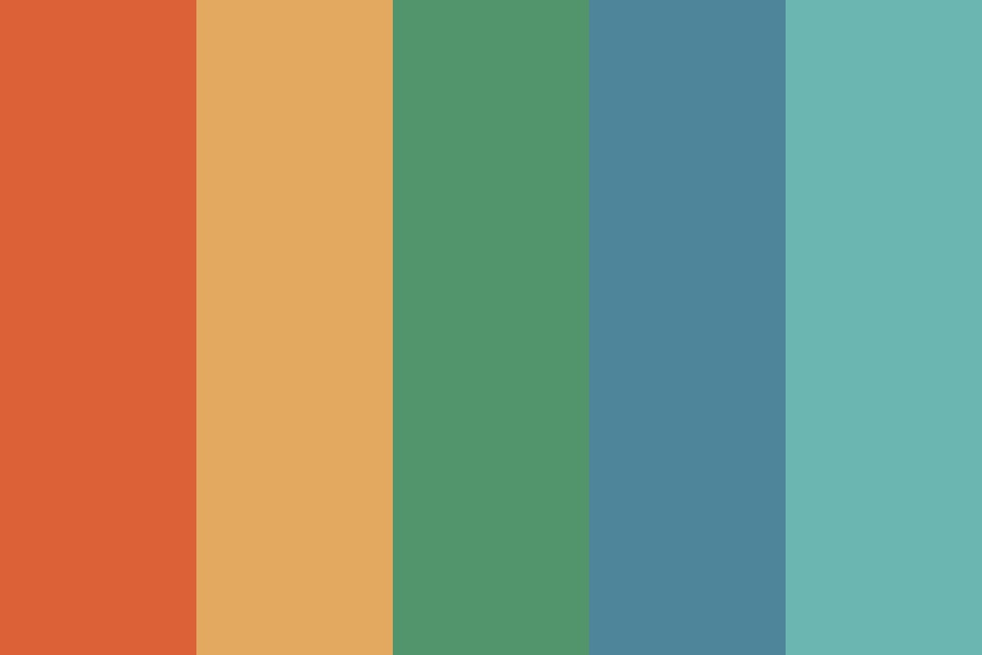 Rockin Retro Color Palette