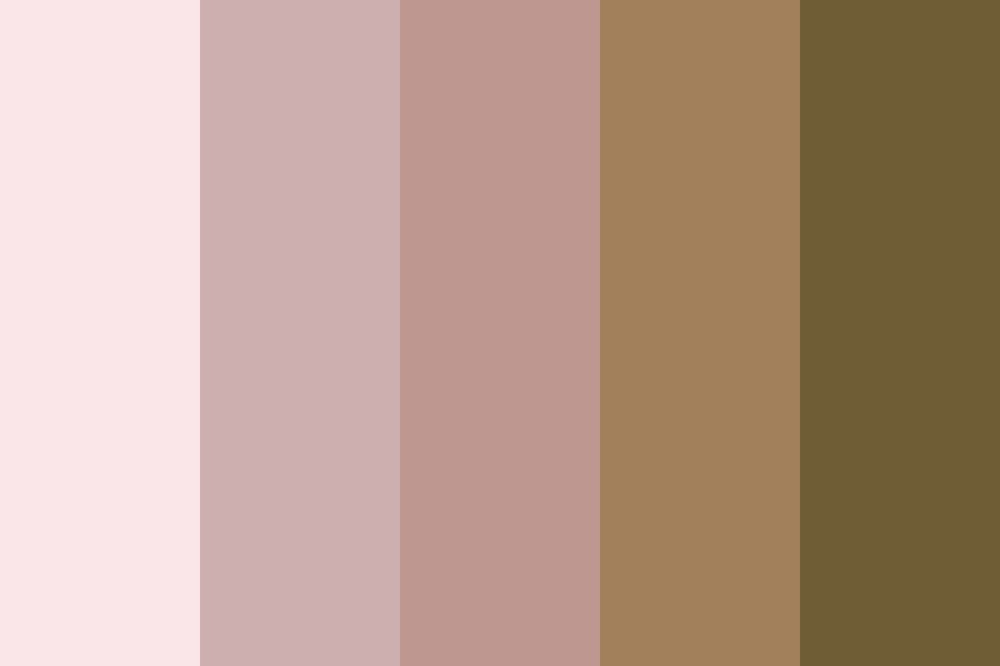 Rose Goldd Color Palette