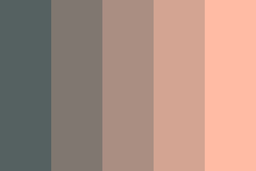 Roses And Blacktop Color Palette