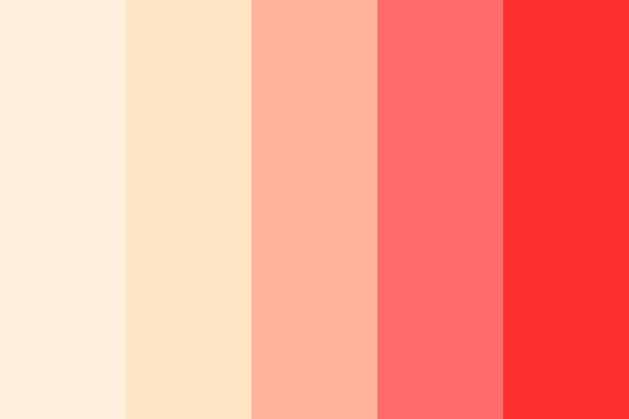 Roses And Red Color Palette