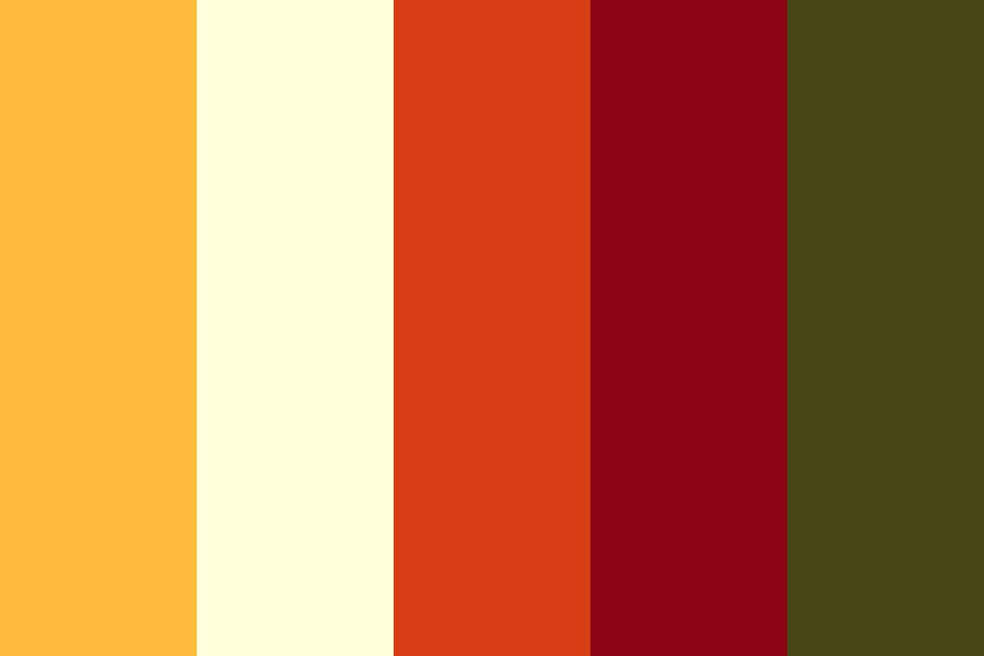 Roses On Fire Color Palette