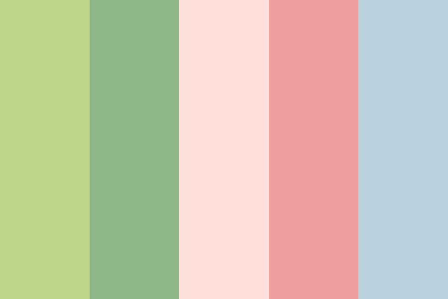 Rosewater In The Spring Color Palette