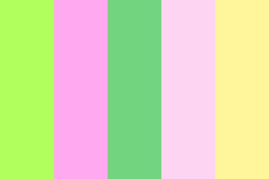 Rosy Green Color Palette