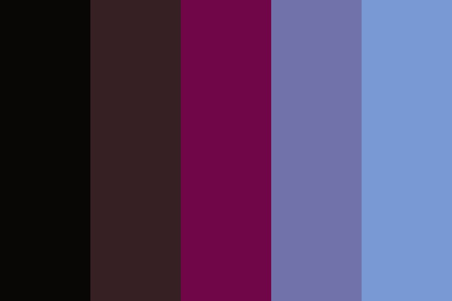 Royal In Its Blood Color Palette