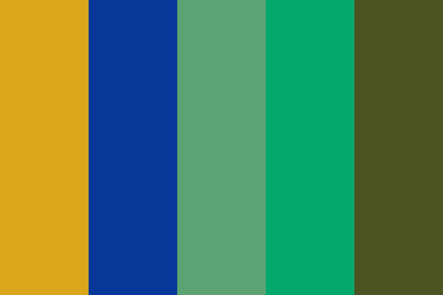Royal Space Academy Color Palette