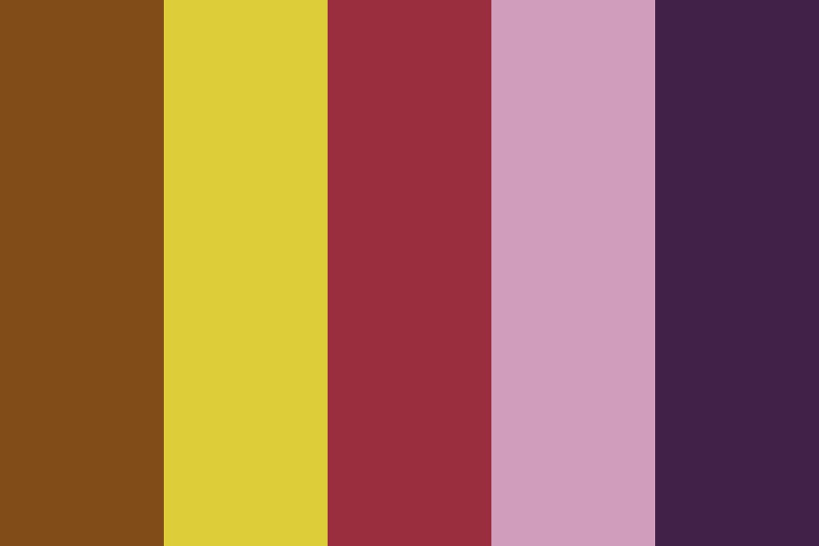Ruby Is Neutral Good Color Palette