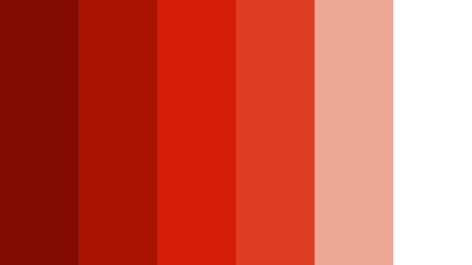 Ruby Logo Color Palette